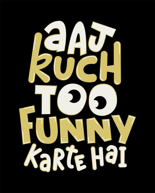 Shop Aaj Kuch Funny Boyfriend T-Shirt