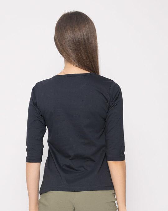 Shop Aalsi Af Round Neck 3/4th Sleeve T-Shirt-Back