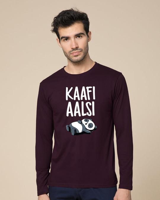 Shop Aalsi Panda Full Sleeve T-Shirt-Front