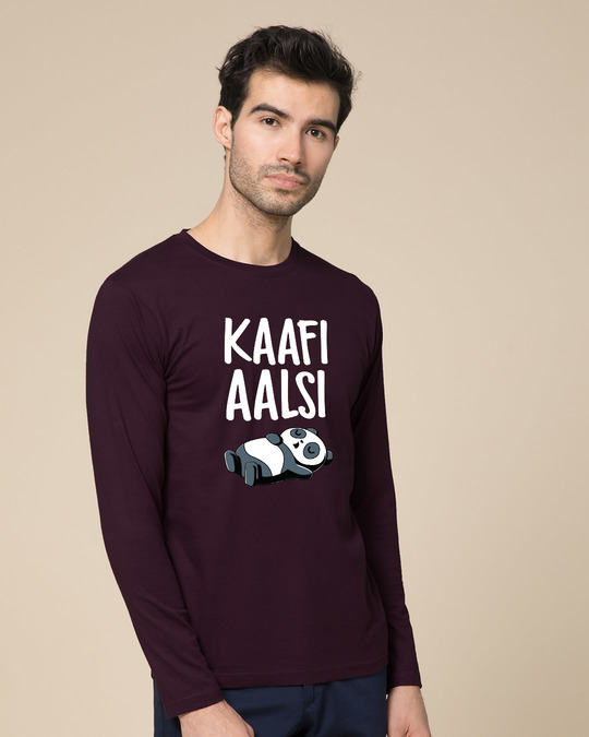 Shop Aalsi Panda Full Sleeve T-Shirt-Back