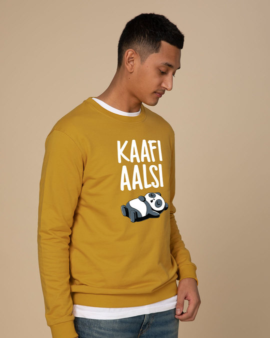 Shop Aalsi Panda Sweatshirt-Back