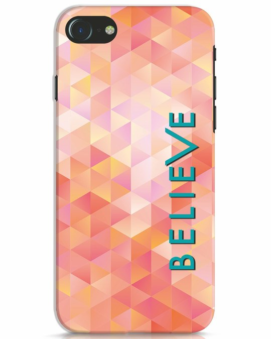 Shop Abstract Believe iPhone 7 Mobile Cover-Front