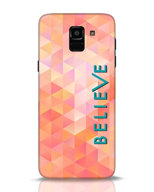 Shop Abstract Believe Samsung Galaxy J6 Mobile Cover-Front