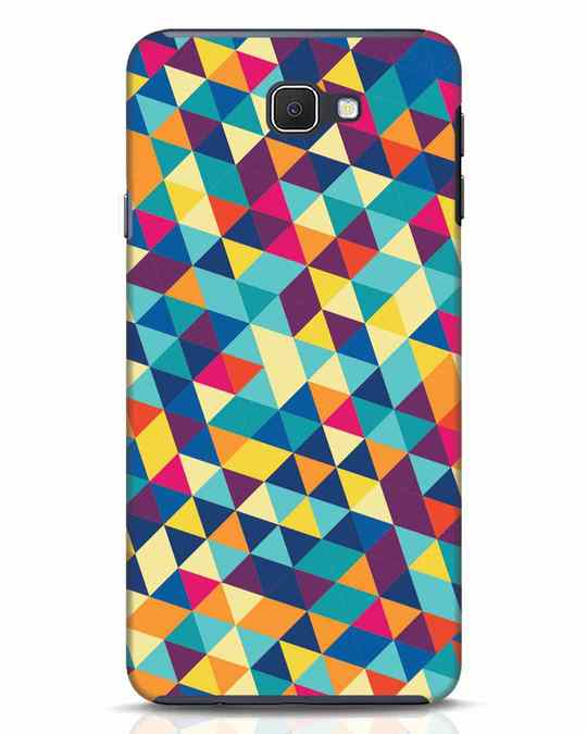 Shop Abstract Triangles Samsung Galaxy J7 Prime Mobile Cover-Front