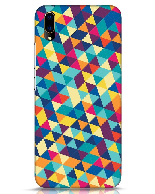 Shop Abstract Triangles Vivo V11 Pro Mobile Cover-Front