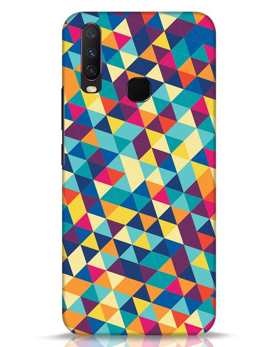 Shop Abstract Triangles Vivo Y17 Mobile Cover-Front