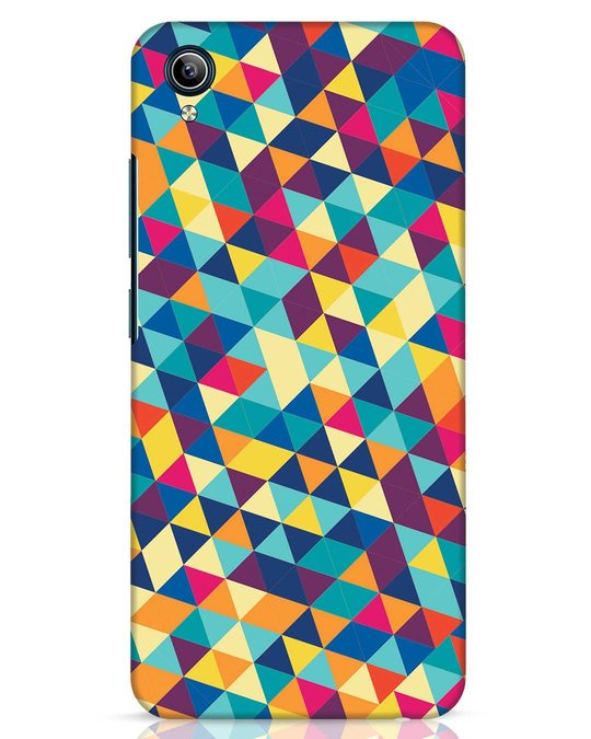 Shop Abstract Triangles Vivo Y91i Mobile Cover-Front