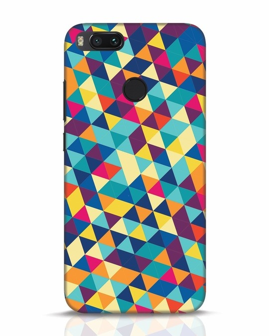Shop Abstract Triangles Xiaomi Mi A1 Mobile Cover-Front