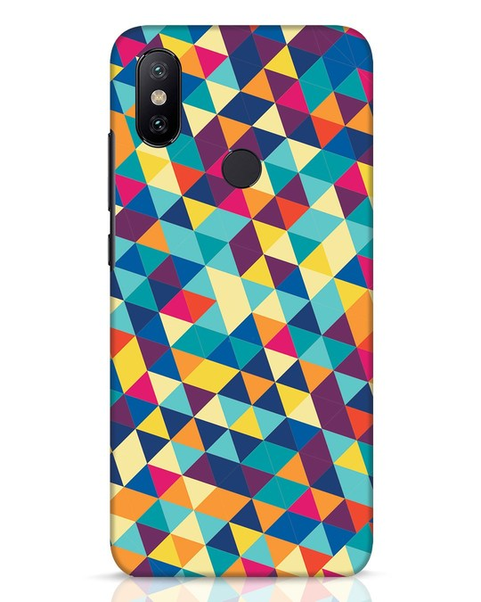 Shop Abstract Triangles Xiaomi Mi A2 Mobile Cover-Front