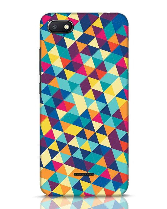 Shop Abstract Triangles Xiaomi Redmi 6A Mobile Cover-Front