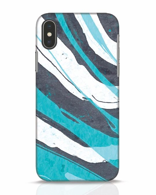 Shop Abstract Watercolor iPhone X Mobile Cover-Front