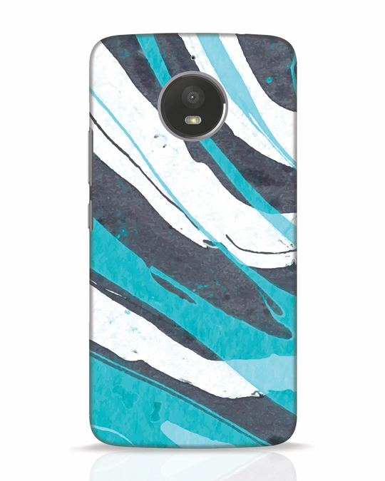 Shop Abstract Watercolor Moto E4 Plus Mobile Cover-Front
