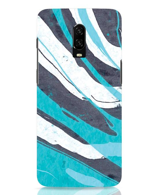 Shop Abstract Watercolor OnePlus 6T Mobile Cover-Front
