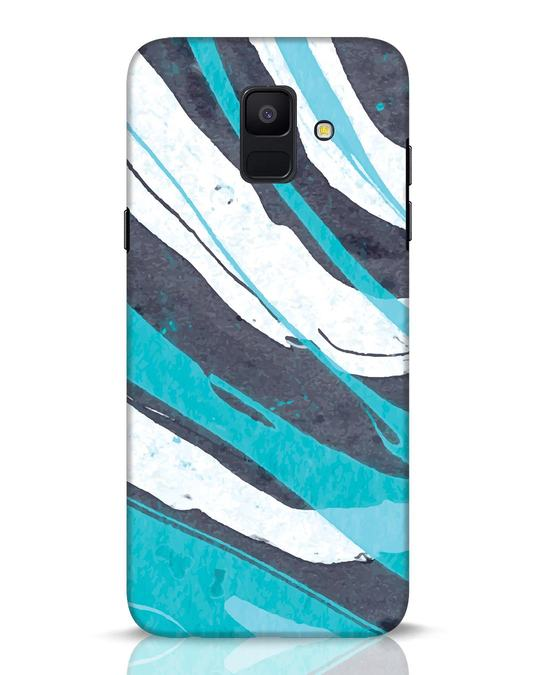 Shop Abstract Watercolor Samsung Galaxy A6 2018 Mobile Cover-Front