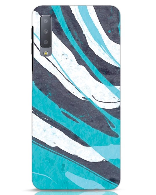 Shop Abstract Watercolor Samsung Galaxy A7 Mobile Cover-Front