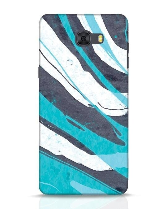 Shop Abstract Watercolor Samsung Galaxy C9 Pro Mobile Cover-Front