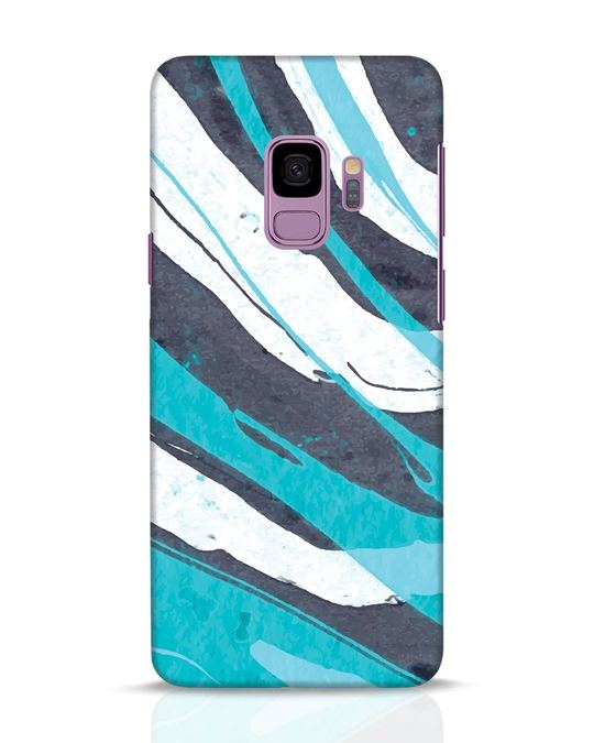 Shop Abstract Watercolor Samsung Galaxy S9 Mobile Cover-Front