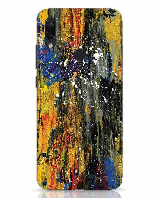 Shop Abstractpaint Xiaomi Redmi Note 7 Mobile Cover-Front