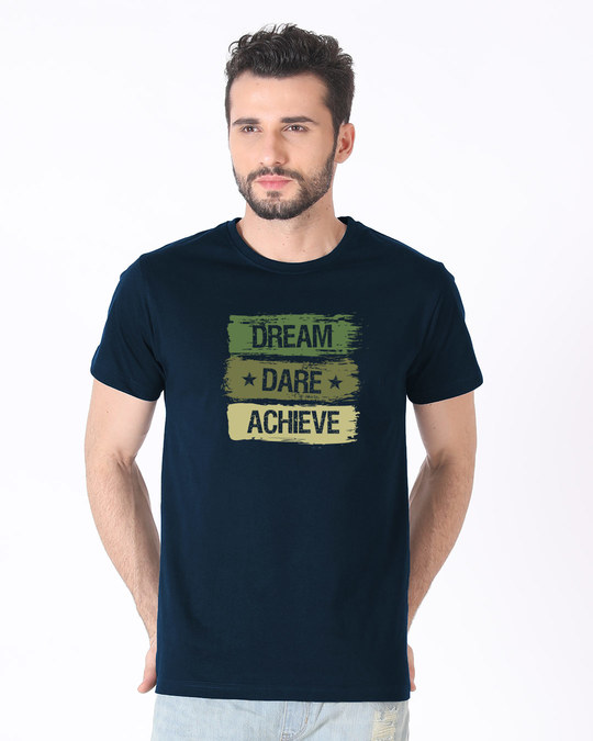 Shop Achieve Half Sleeve T-Shirt-Back
