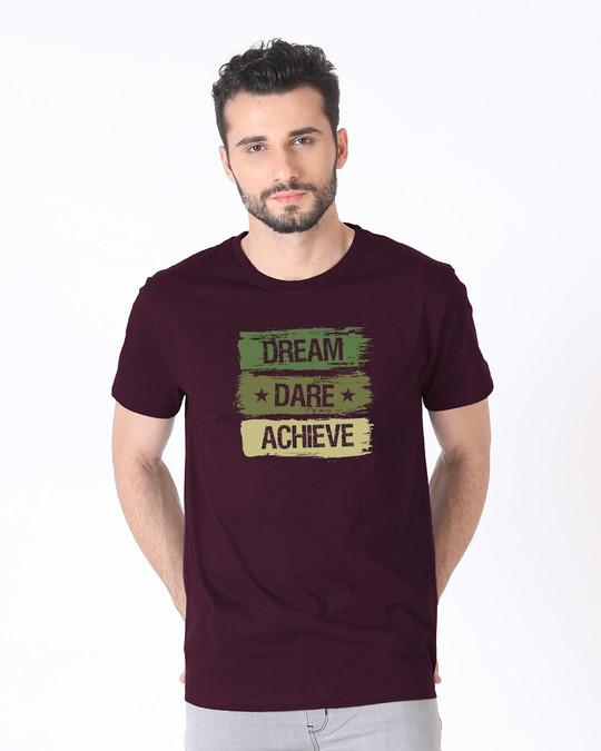 Shop Achieve Half Sleeve T-Shirt-Back