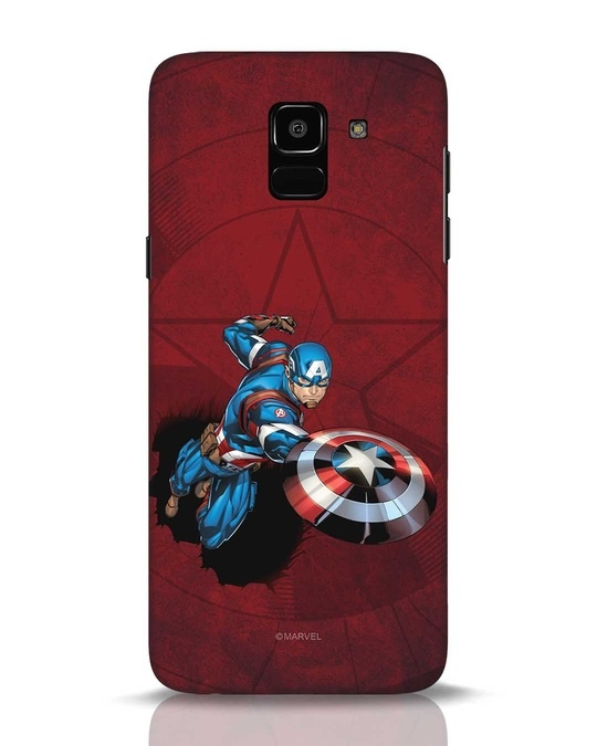 Shop Action Captain Samsung Galaxy J6 Mobile Cover (AVL)-Front