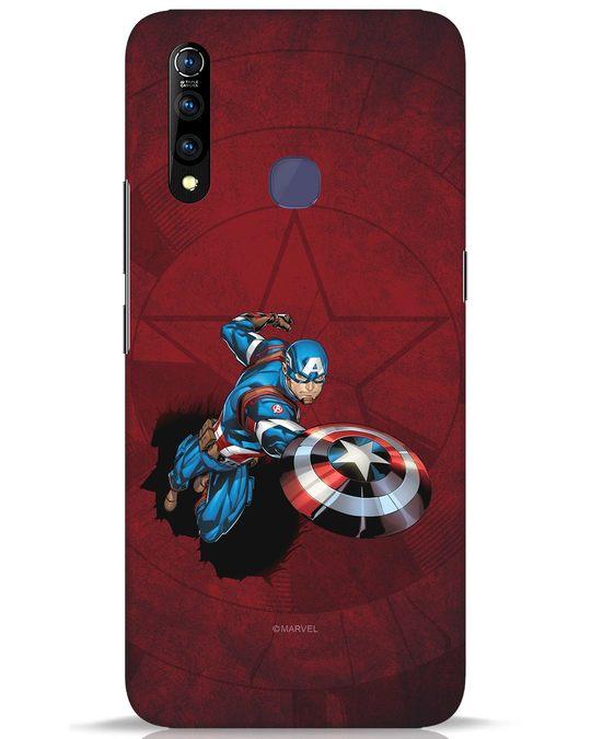 Shop Action Captain Vivo Z1 Pro Mobile Cover (AVL)-Front