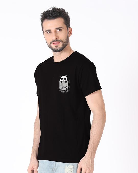 Shop Addicted To Sleep Half Sleeve T-Shirt-Full