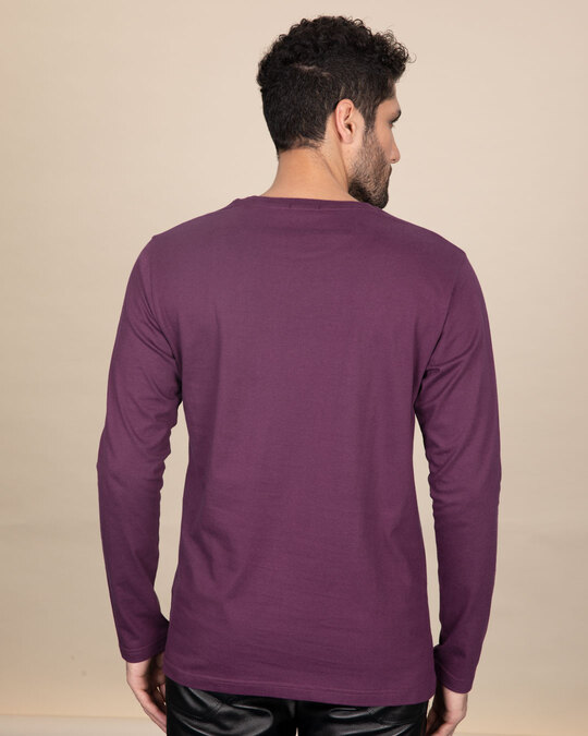 Shop Adjust Your Altitude Full Sleeve T-Shirt-Back