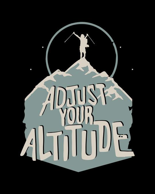 Shop Adjust Your Altitude Full Sleeve T-Shirt