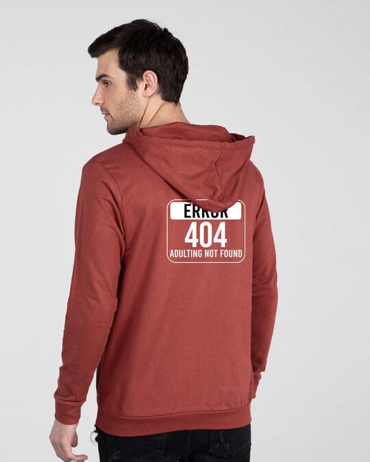 Shop Adulting Error 404 Fleece Hoodie-Full