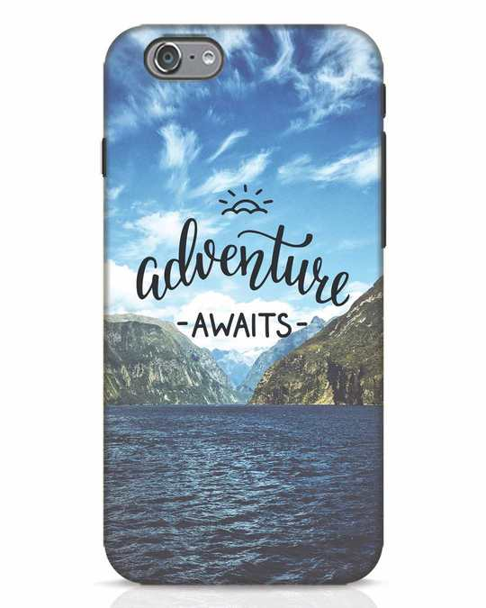 Shop Adventire Awaits iPhone 6s Mobile Cover-Front