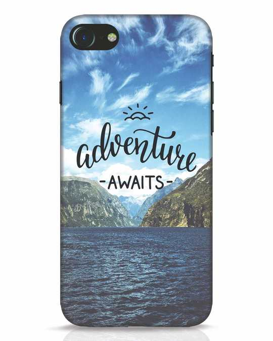 Shop Adventire Awaits iPhone 7 Mobile Cover-Front