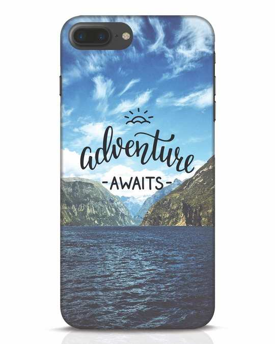 Shop Adventire Awaits iPhone 7 Plus Mobile Cover-Front