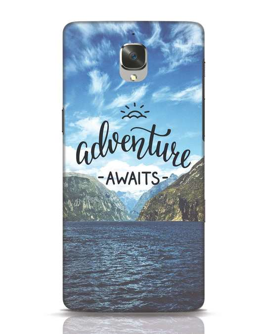 Shop Adventire Awaits OnePlus 3 Mobile Cover-Front