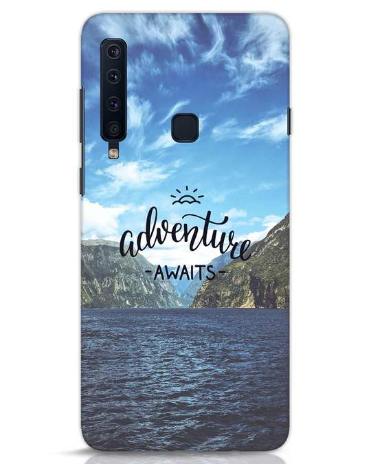 Shop Adventire Awaits Samsung Galaxy A9 2018 Mobile Cover-Front