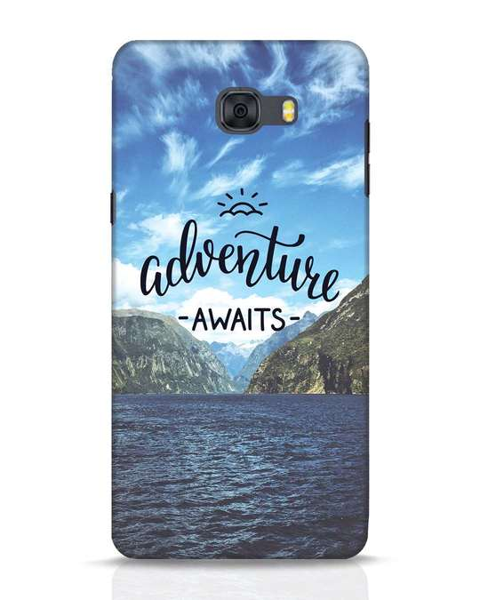 Shop Adventire Awaits Samsung Galaxy C9 Pro Mobile Cover-Front