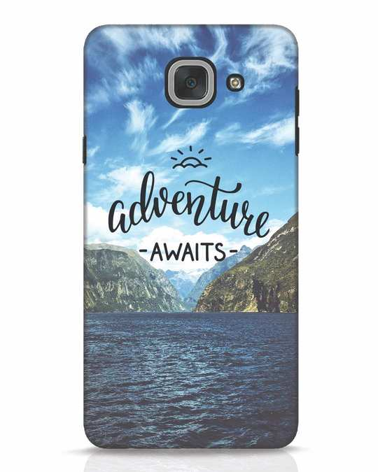 Shop Adventire Awaits Samsung Galaxy J7 Max Mobile Cover-Front