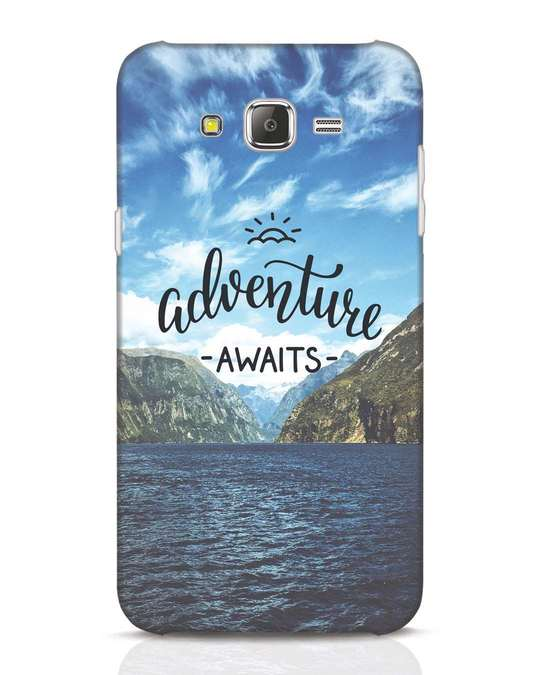 Shop Adventire Awaits Samsung Galaxy J7 Mobile Cover-Front