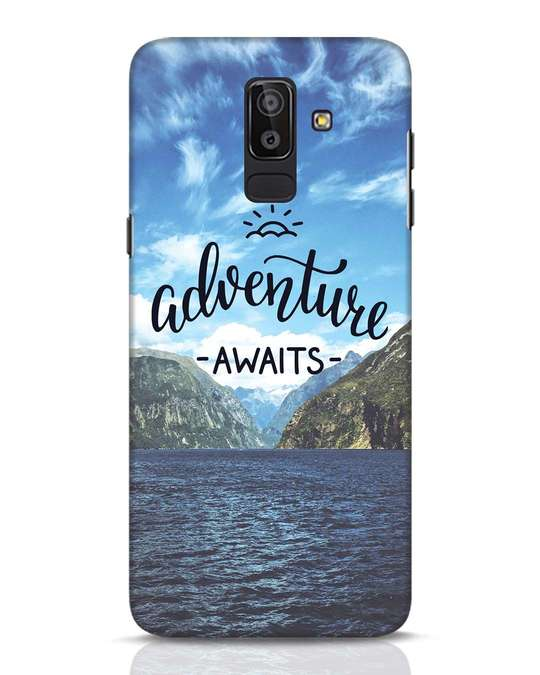 Shop Adventire Awaits Samsung Galaxy J8 Mobile Cover-Front