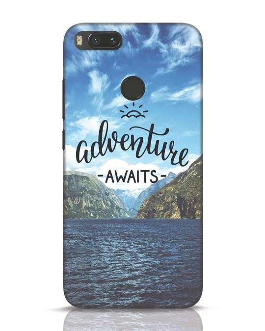 Shop Adventire Awaits Xiaomi Mi A1 Mobile Cover-Front