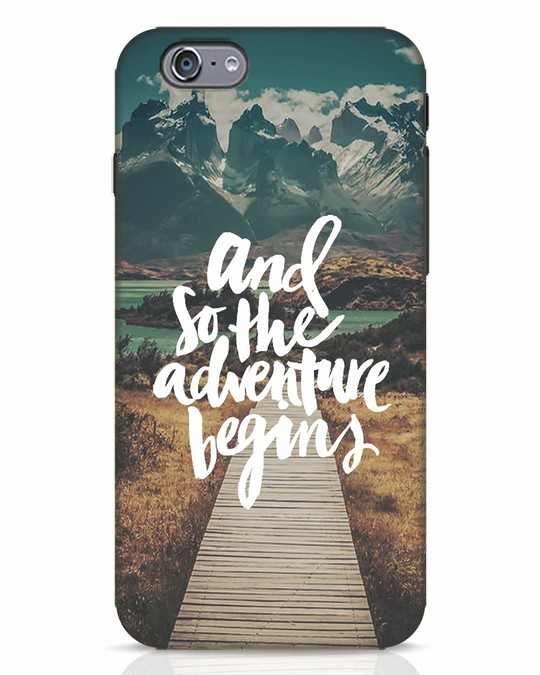 Shop Adventure Begins iPhone 6s Mobile Cover-Front