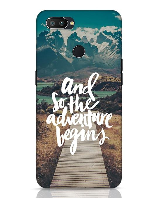 Shop Adventure Begins Realme 2 Pro Mobile Cover-Front