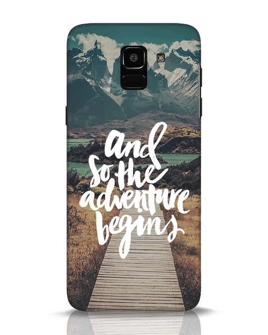 Shop Adventure Begins Samsung Galaxy J6 Mobile Cover-Front