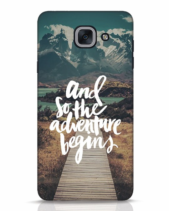 Shop Adventure Begins Samsung Galaxy J7 Max Mobile Cover-Front