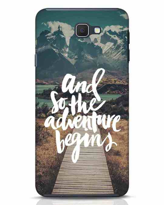 Shop Adventure Begins Samsung Galaxy J7 Prime Mobile Cover-Front