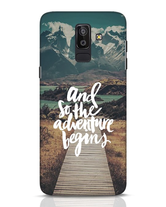 Shop Adventure Begins Samsung Galaxy J8 Mobile Cover-Front