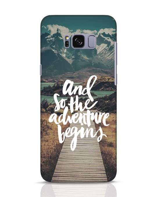 Shop Adventure Begins Samsung Galaxy S8 Mobile Cover-Front
