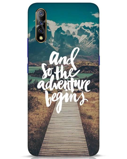 Shop Adventure Begins Vivo S1 Mobile Cover-Front