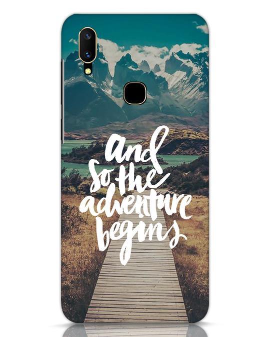 Shop Adventure Begins Vivo V11 Mobile Cover-Front