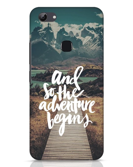 Shop Adventure Begins Vivo Y83 Mobile Cover-Front